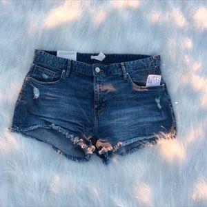 Pants - Denim blue-  Short  Size- 10, 12